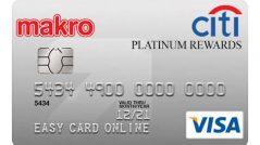 บัตรเครดิตซิตี้ แม็คโคร แพลตตินั่ม รีวอร์ด-Citi Makro
